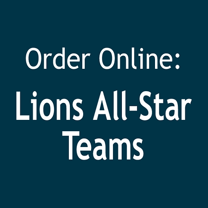 Lions All-Star Teams