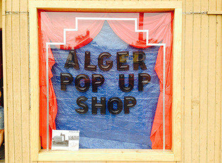 Alger Sidewalk Sale : Huge Success