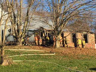 South Fayette Firefighters Cover Cecil Twp During Multiple Fires