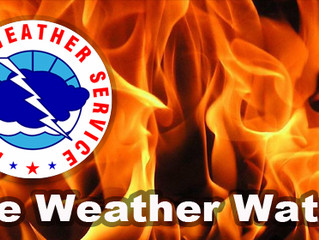 NWS Potential For Increased Brush Fire Activity