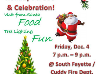 Holiday Parade & Celebration.