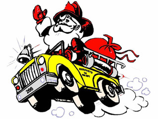 Santa Fire Truck Run 2016 is scheduled for December 17th
