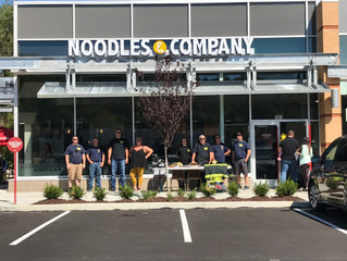 Thank you for your support-Noodles & Company Fundraiser