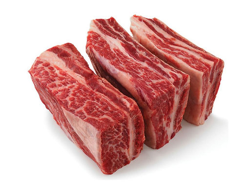 Beef Short Ribs Cut