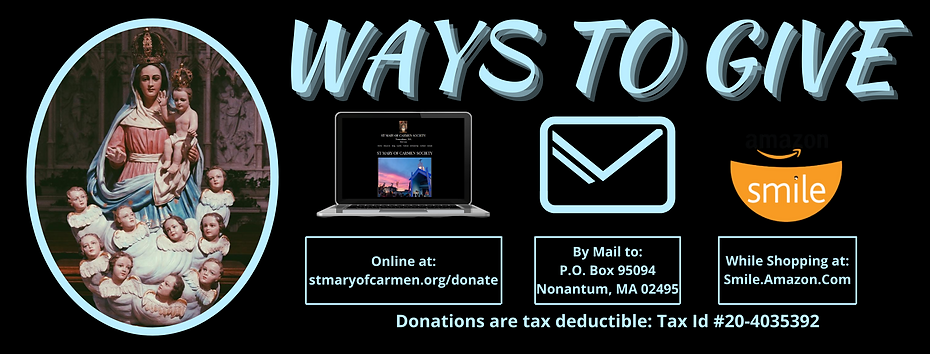 Donate to St Mary of Carmen