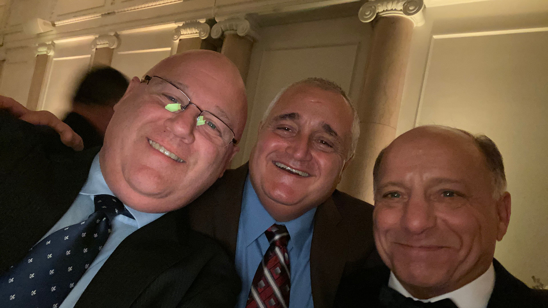 Society members attending a wedding for the VP's daughter 10/26/19.
