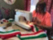 Making a parade sash