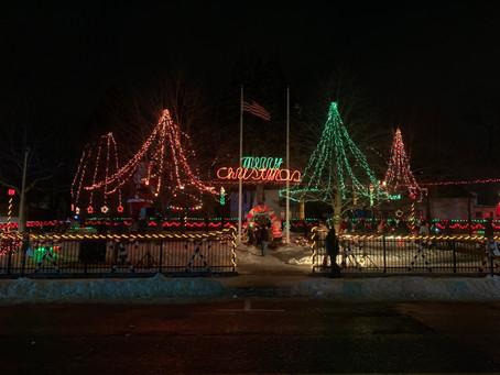 Nonantum Children's Christmas Party Association's annual park lighting a success!
