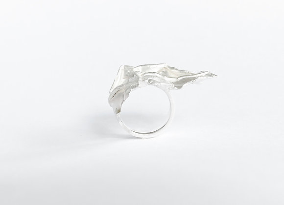 ring . SILVER FABRIC . dare to stand out