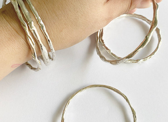 bangles . STACKERS . group of 6
