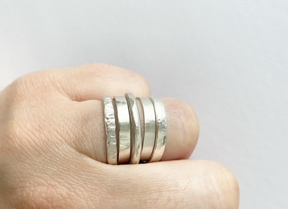 rings . STACKERS . group of 5