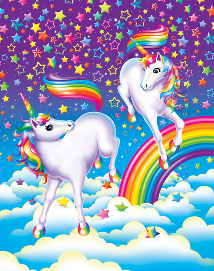 Unicorns. (This illustration was used for a variety of projects)