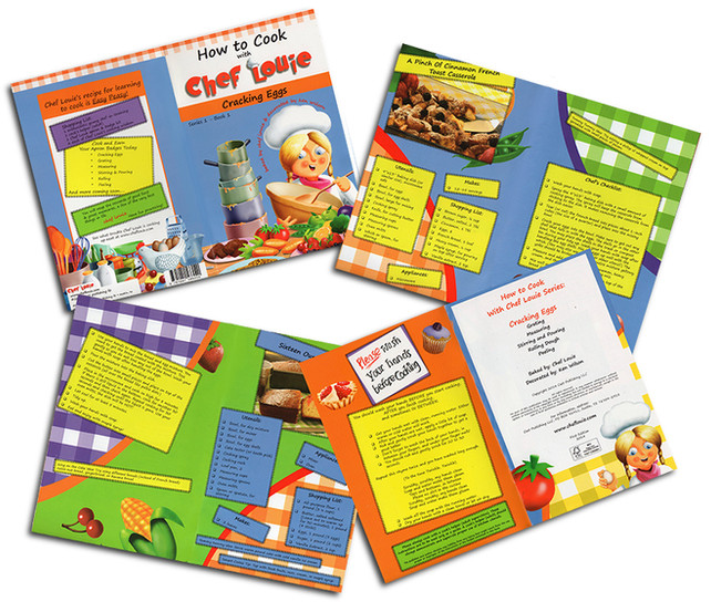 Children's Cookery Book Sample Pages