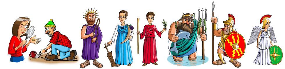 Education Panel Illustrations