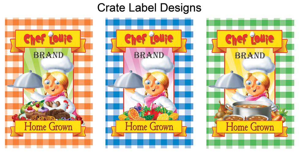 Crate Label Designs