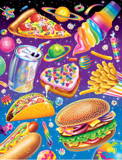 Junk Food, (This Illustration was used for a variety of projects)