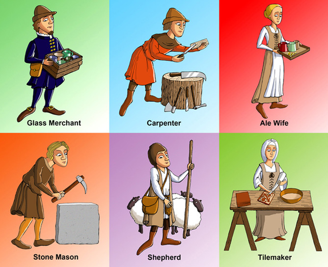 Medieval Characters Produced For Discovery Museum