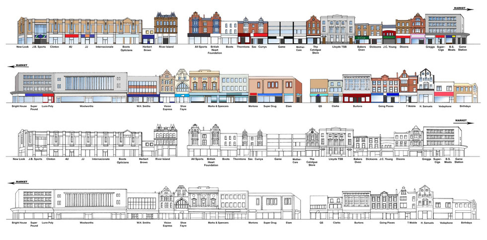 King Street, South Shields, produced for South Tyneside Education Department.