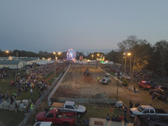 Aerial view of the Terryville Lions Country Fair, 2017.