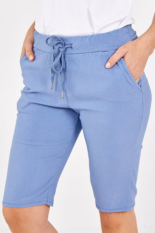 Georgia 'Magic' Shorts - Denim Blue