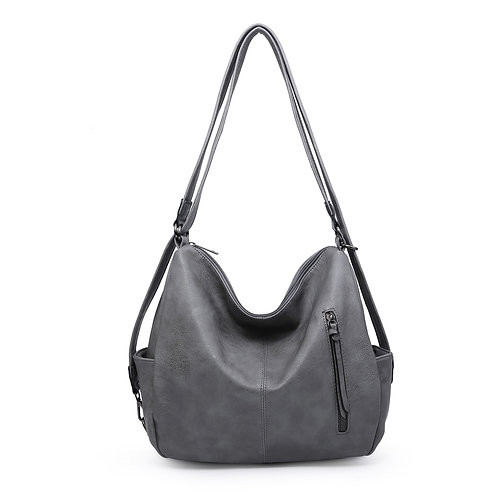 Paige Bag - Dark Grey