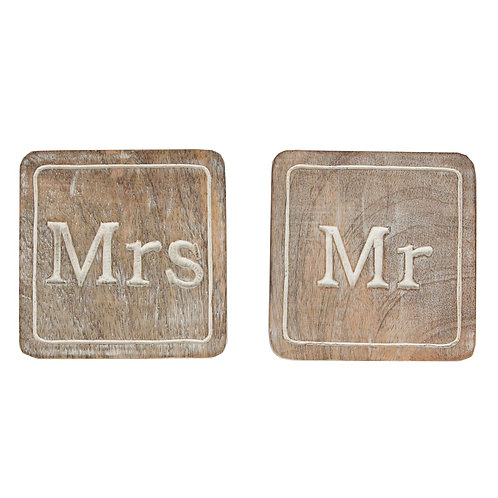 Mr & Mrs Coasters
