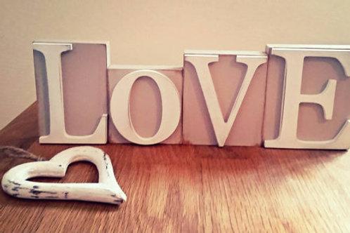 Love Wooden Blocks
