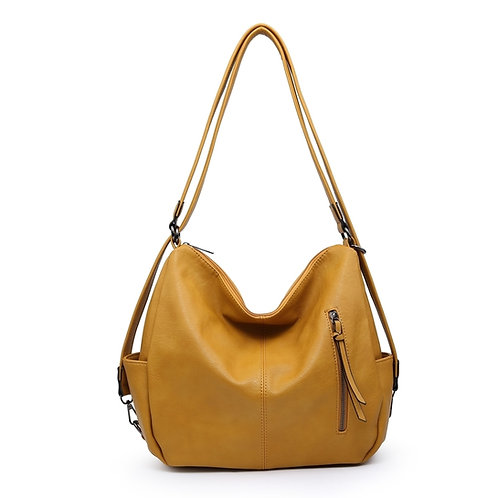 Paige Bag - Mustard Yellow