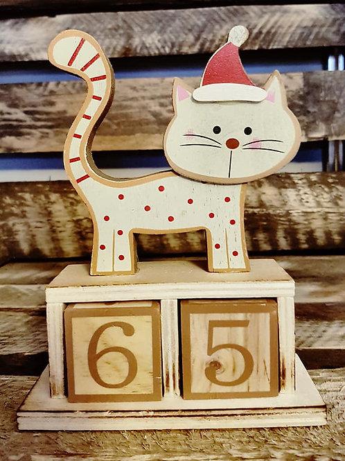 Cat Christmas Calendar