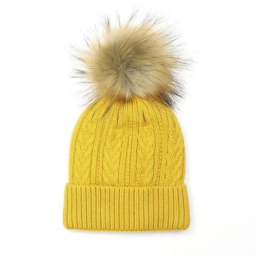 Zoe Hat - Mustard