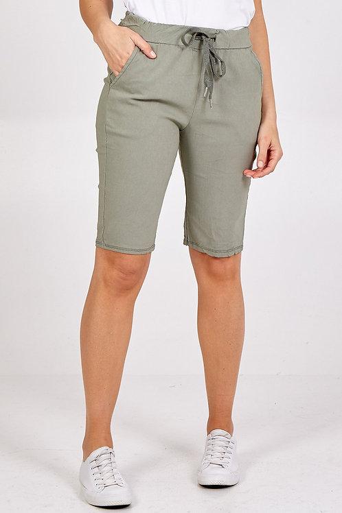 Georgia 'Magic' Shorts - Khaki