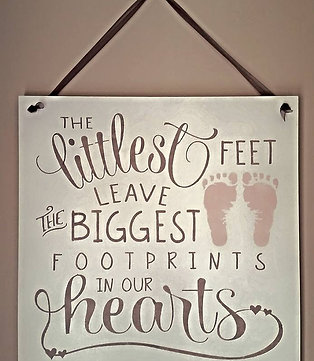 The Littlest Feet Sign