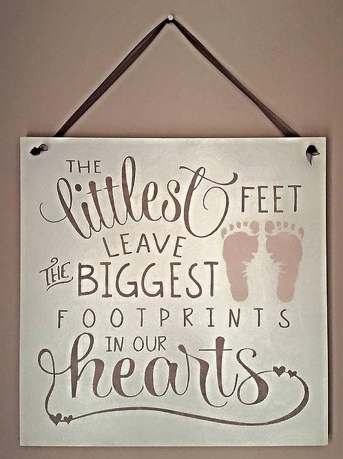 The Littlest Feet Sign