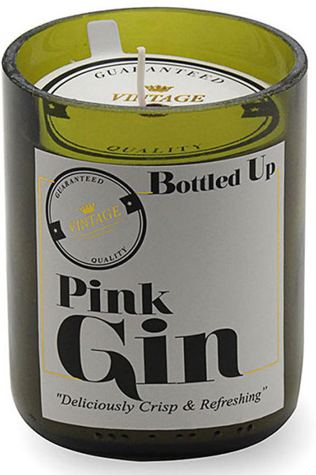 Bottle Candle - Pink Gin