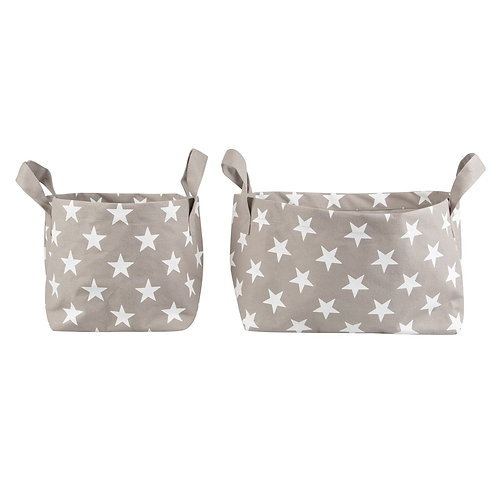 Nordic Star Baskets (Set of Two)