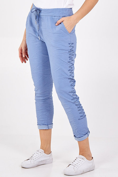 Charlie Magic Trousers - Denim Blue