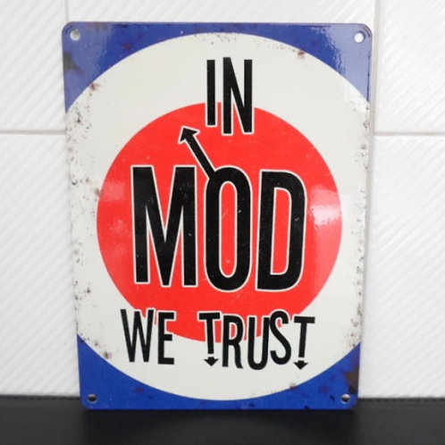 Metal Sign - Mod