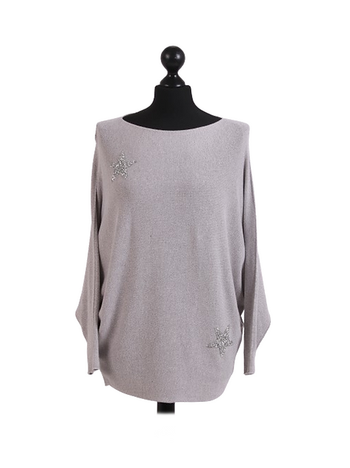 Lily Jumper  - Silver
