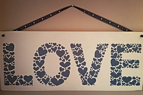 Love Hearts Sign