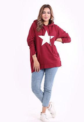 Nadia Star Hoodie