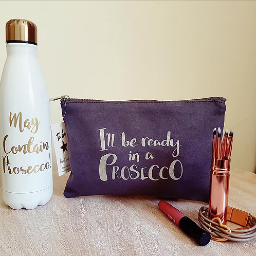 Cosmetic Bag / Clutch - Prosecco