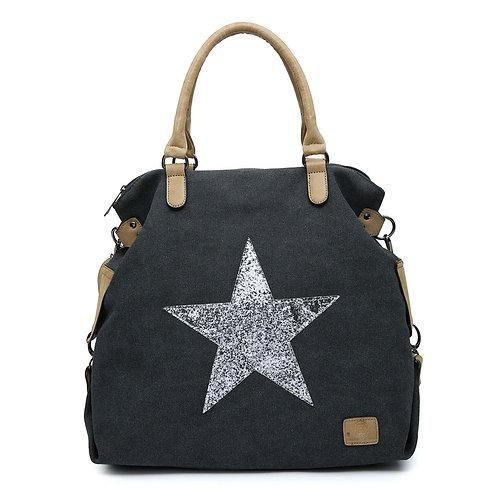 Large Star Bag - Black