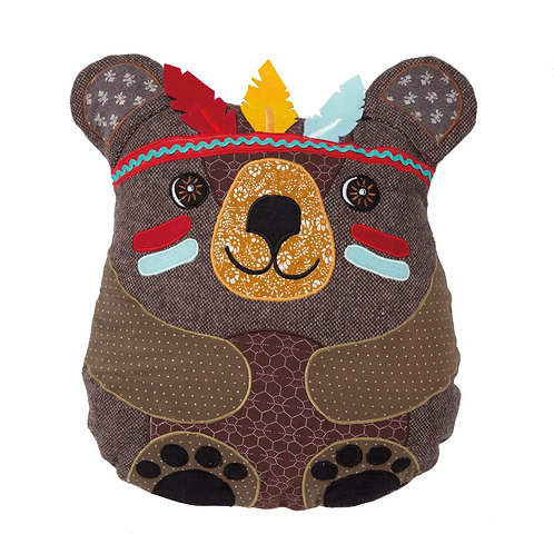 Andy Bear Animal Adventure Cushion