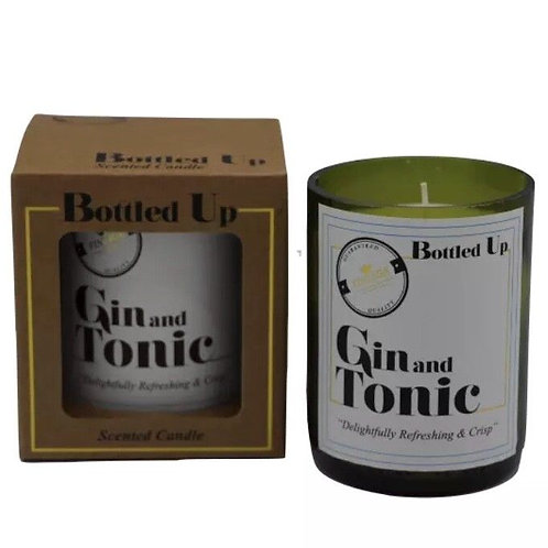 Bottle Candle - Gin & Tonic