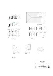 Planos de Paisajismo, planta y cortes
