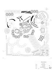 Planos de Paisajismo, planta greneral