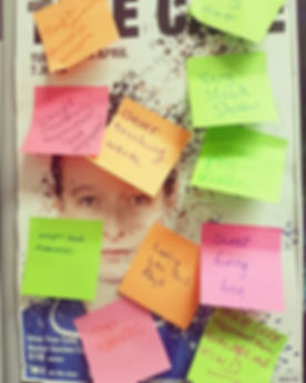 Brilliant post-it feedbacks from the _sw