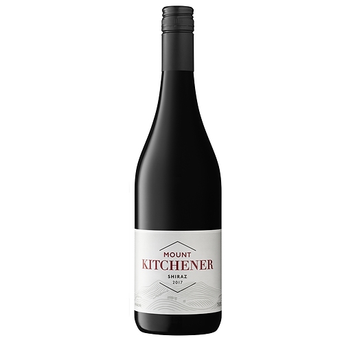 Mount Kitchener 2017 Shiraz - Unlabelled (Dozen)