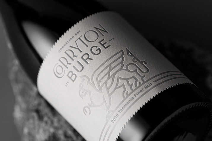 Corryton Burge Cornelian Bay Pinot Noir
