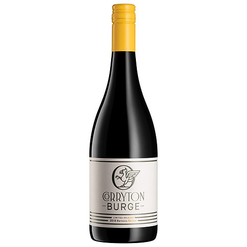SOLD OUT Corryton Burge Limited Release 2018 Barossa Shiraz